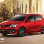 Catalogo Toyota Etios Ficha Tecnica 2018